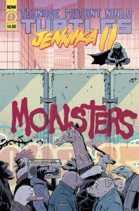 Teenage Mutant Ninja Turtles: Jennika II #1 preview